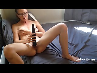 I cum twice being naughty with my massager