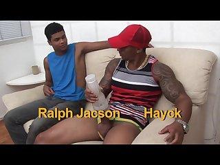 Hayck bangs jacson Bbb