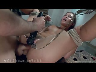 Intense bdsm bondage movie