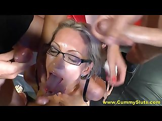 Cum drinking videos