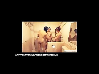 Shemale teaser 3 Trannies shower