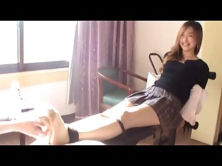 Chinese feet Tickling