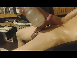 Best Fleshlight show with Explosive cumshot