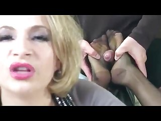 Hot stockings milf footjob heelslovers pornhub