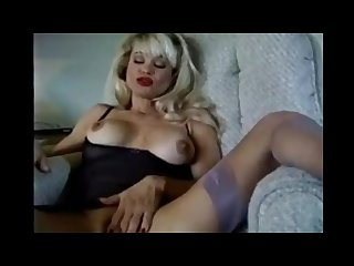 Sexy smoking milf with moist pussy