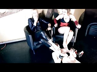 Trampling female slave