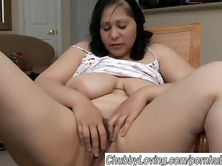 Beautiful big tits brunette bbw