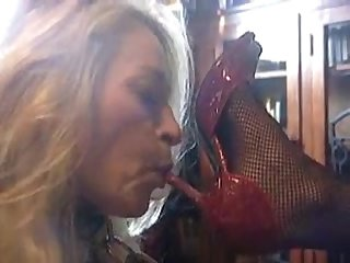 Slave girl worship mistress amazing sheos