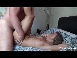 Quick fuck cum in mouth