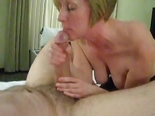 Mature wife milks off husband S big dick