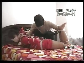 Chinese girl gagged