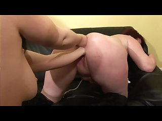 French amateur does some hard anal