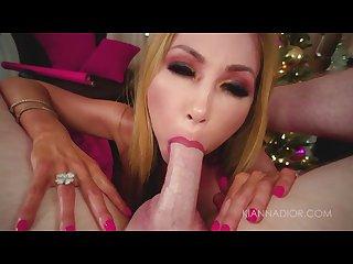 Big Tit Asian MILF Gets Hardcore POV Fuck & Facial On Christmas