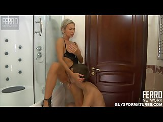 Ninette hot russian mom in shower 2 2011
