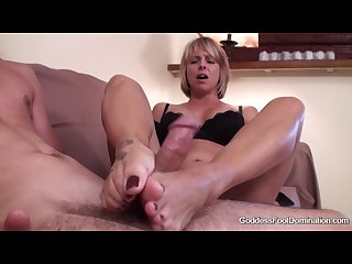 Brianna s son s friend footjob