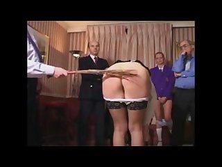 Spanking clip video