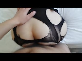 Chinese stockings little slut