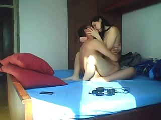 Arab couple romantic sex girl is totally in love hidden cam