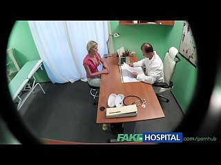 Fakehospital slim babe wants sex with doctor