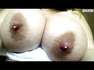 Huge milky lactating breast 1