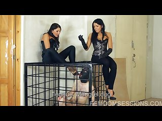 Megan and jana Caged Servant P1 other parts in private