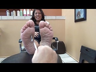 Plump ticklish feet 1