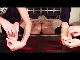 Tickling milf vickie punished for lying