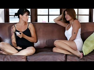 Charmane star gorgeous as ever in a lesbian scene