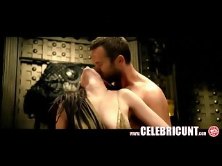 Juicy boobs naked celebrity babe Eva green getting fucked on film