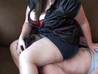 Bbw fcaesitting skirt