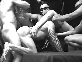 Black white and hot scene 2