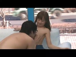 Weird virgin guy fuck japanese girl for the first time