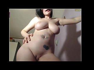 Best body girl cumming and Twerking nude