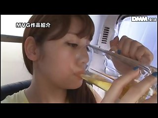 Rei Mizuna Drinks Homeless Piss