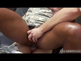 Free army man black dick movies and hand some army gay sex video