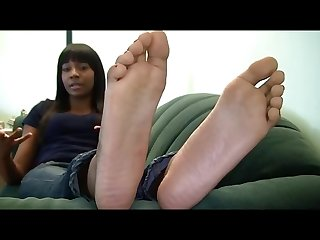 Nice ebony feet