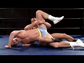Cocky fratboy Wrestling Squash