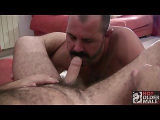 Rough mature gay sex