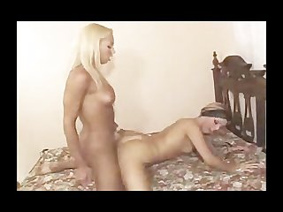 Very hot girl and tgirl fucking with passion by twistedworlds