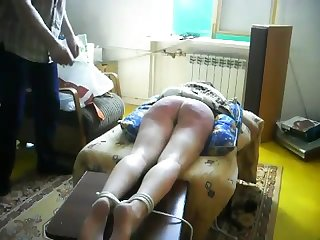 Painful amateur bdsm caning sub katja