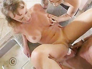 Milf gets pimped out