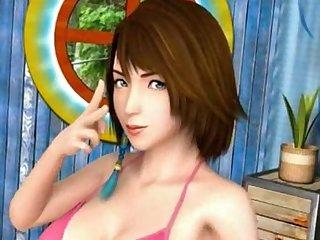 Yuna hentai 3d