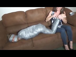 Michelle peters Mummified Tickle torture f f