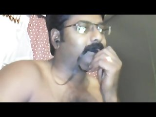 Innocent south indian man getting notty on cam