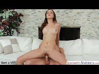 Brunette wife Victoria rae black fucking