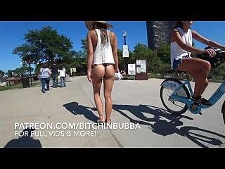 Thong bikini voyeur hot teen