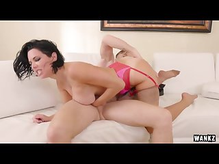 incredibly hot cougar sex with veronica avluv