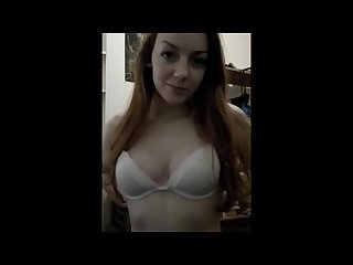 Gingerpuss very cute redhead gives blowjob and swallow