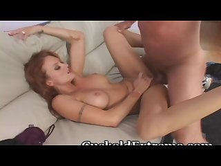 Redhead is married to a cuckold