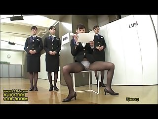 Just fun japanese stewardess training 2 15